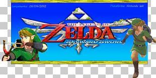 The Legend Of Zelda: Skyward Sword Link Action & Toy Figures Video Game PNG
