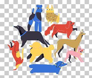 Dog Illustrator Graphic Design Illustration PNG