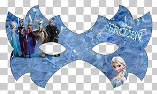 Elsa Anna Mask Paper Party PNG