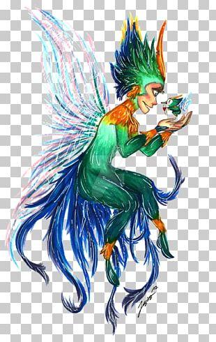 Fairy Mythology Illustration Cartoon Dragon PNG