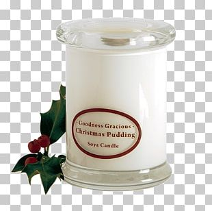 Soy Candle Christmas Pudding Wax Flavor PNG