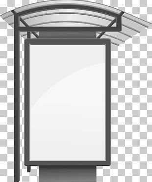 Bus Stop Illustration PNG