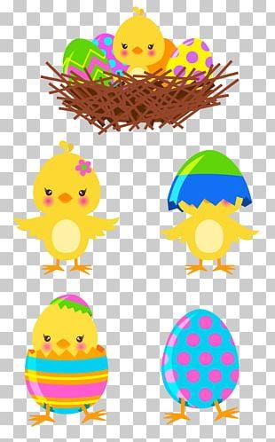 Chicken Easter Egg PNG