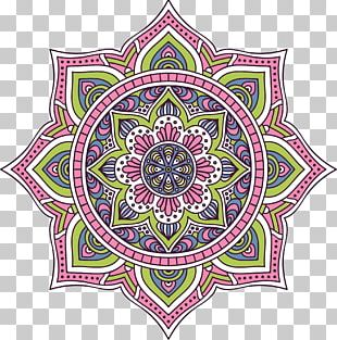 Mandala Euclidean Buddhism PNG