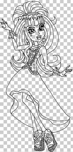 Free Printable Monster High Coloring Pages for Kids | 645x310