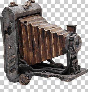 Very Old Antique Camera PNG