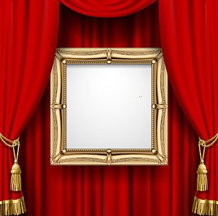 Curtain Green Stock Photography Stock Illustration PNG
