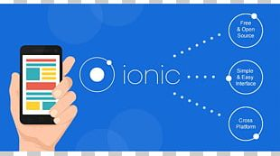 Ionic Mobile App Development Software Framework Mobile Development Framework PNG