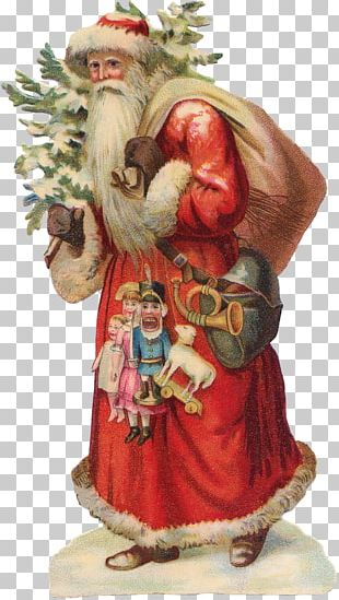 Santa Claus Christmas Ornament Gift Homesteading PNG