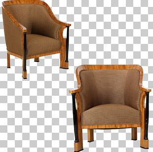 Club Chair Eames Lounge Chair Wing Chair Biedermeier PNG
