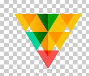 Logo Triangle Geometry Idea PNG