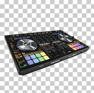 Reloop Mixon-4 DJ Controller Djay Disc Jockey Audio Mixers PNG