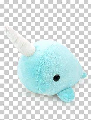Stuffed Animals & Cuddly Toys Plush Textile Turquoise PNG