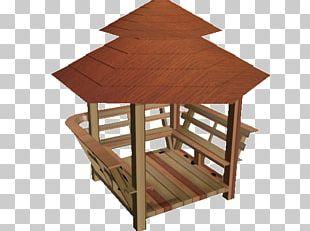 Garden Furniture Hardwood Truss Eiffel Tower Shed PNG