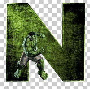 Hulk Alphabet YouTube Letter PNG