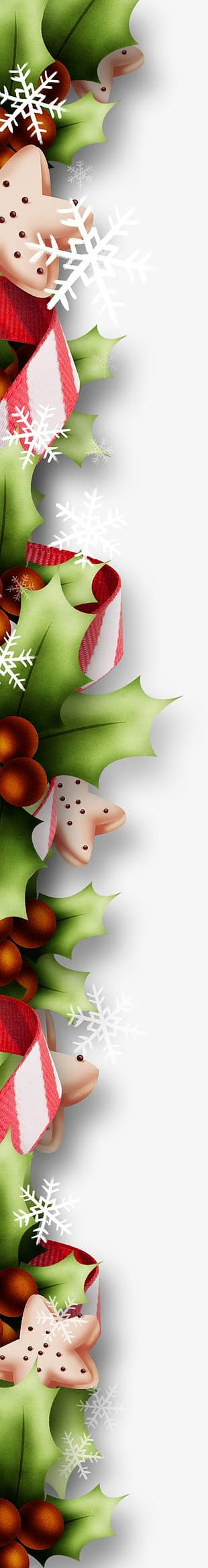 Christmas Decoration Material PNG