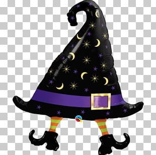 Witch Hat Witch Hat Toy Balloon Halloween PNG