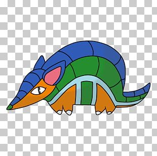 Reptile Character Cartoon PNG