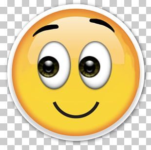 Emoji Smirk Sticker Emoticon PNG