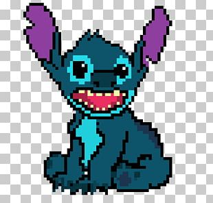 Disneys Stitch Experiment 626 Lilo Pelekai Pixel Art