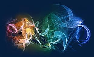 Colorful Misty Smoke PNG