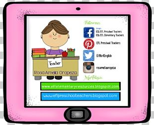 TeachersPayTeachers English As A Second Or Foreign Language Education Preschool Teacher PNG
