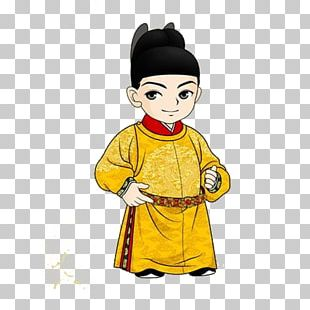 Qing Dynasty Emperor Of China Q-version Ming Dynasty PNG