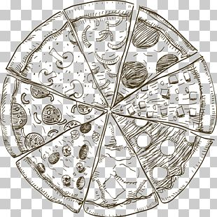 Sushi Pizza Drawing Food PNG