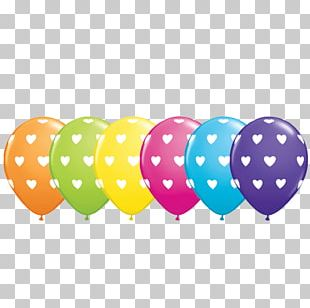 Toy Balloon Party Birthday Polka Dot PNG