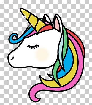 Unicorn Emoji Photography PNG