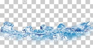 Ice Cube Water Designer PNG