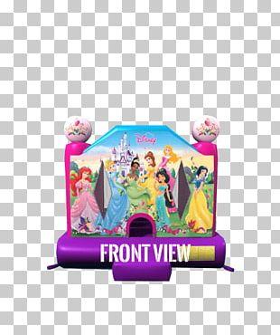 Inflatable Bouncers Disney Princess Toy Castle PNG