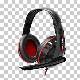 Microphone Noise-cancelling Headphones Surround Sound Headset PNG