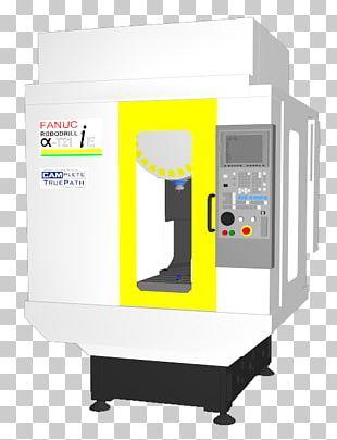 Machine FANUC Computer Numerical Control ロボドリル Machining PNG