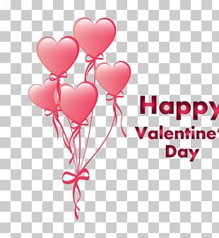 Valentines Day Heart Balloon Qixi Festival PNG