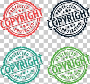 Copyright Rubber Stamp PNG