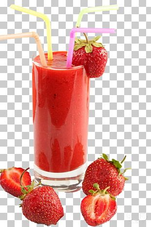 Sugarcane Juice Strawberry Juice Smoothie Orange Juice PNG
