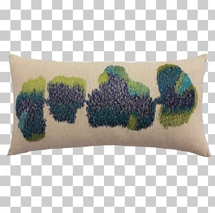 Textile Industry In India Embroidered Art Cushion PNG