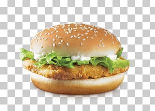 Veggie Burger Hamburger Vegetarian Cuisine McDonald's Big Mac Fast Food PNG