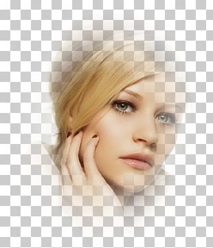 Hair Coloring Blond Layered Hair Eyebrow PNG