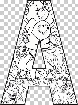 Mandala Letter Pin Coloring Book Drawing PNG