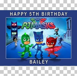 PJ Masks: Super City Run Frosting & Icing Amazon.com Birthday PNG