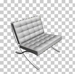 Barcelona Chair Couch Sofa Bed Daybed PNG