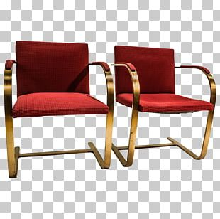 Brno Chair Barcelona Chair Villa Tugendhat Furniture PNG