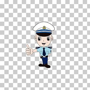 Thumb Signal Gesture Police Officer PNG