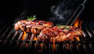 Barbecue Grill Chophouse Restaurant Ribs Grilling Meat PNG