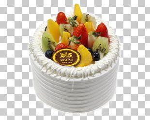 Fruitcake Torte Buttercream Frozen Dessert PNG