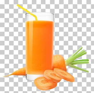 Orange Juice Carrot Juice Drink PNG
