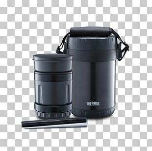 Thermoses Thermos Bento Lunch Box Set Jar Food Container 0.6L Black From Japan Model H266 Thermos L.L.C. Zojirushi Mr Bento Stainless Lunch Jar PNG