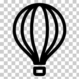 Flight Computer Icons Hot Air Balloon Birthday PNG